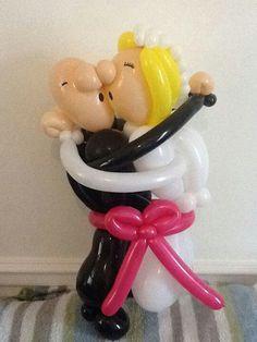 Kiss the Bride Twist Balloon