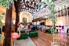 A Quirky Funfair and Madhatter's Tea Party Themed Brighton Wedding