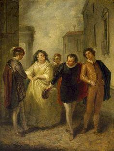 Roméo et Juliette en peintures