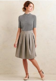 Quinn Tweed Skirt | Modern Vintage New Arrivals | Ruche