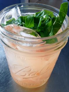 Grapefruit-Basil Vodka Gimlet - hello, summer.  andwhatiate.com #cocktails