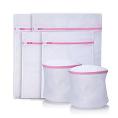 Set of 6 Laundry Wash Bags Cherbell Laundry Net Bag Small Medium Large Wash Mesh Laundry Bag With Zippers >>> Want to know more, click on the image.