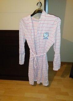 Kup mój przedmiot na #vintedpl http://www.vinted.pl/damska-odziez/inne-ubrania/16380813-sliczna-podomka-rozowo-biala-z-hello-kity
