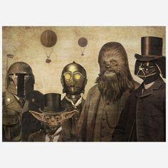 Victorian Star Wars Fan Art