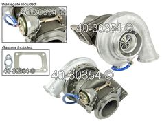 buyautoparts.com carries OEM BorgWarner turbos.  buyautoparts number 40-30354 ON crosses with BorgWarner part number 172743