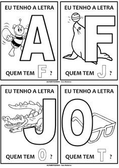 PARAÍSO DO EDUCANDO: Jogo do Alfabeto