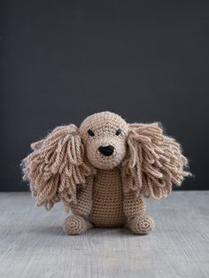 Get to know Saxon the Cocker Spaniel, designed by Kerry Lord! This adorable amigurumi crochet project comes complete with our luxurious pure wool yarn and an easy-to-follow downloadable pattern with video links for all the techniques.