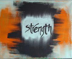 Canvas: acrylic: strength