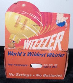 Vintage 1969 Mattel Wizzzer Top