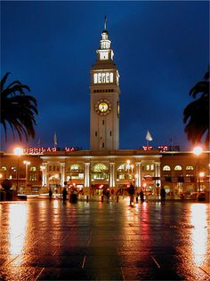Ferry Building, San Francisco, Ca. Great place for cheese, olive oil, and other gourmet foods.