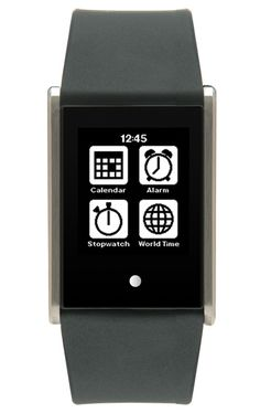 "Phosphor ePaper Smart Watch ~ Introducing the next generation digital watch with a touch screen, Smartphone-like watch apps, ""always on"" display, and you never need to charge it."