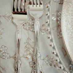I want fancy forks like this