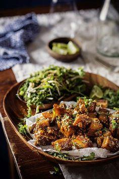 Gekaramelliseerde varklies (Pork Belly) - rooi rose Dutch Oven Recipes, Pork Recipes, South African Recipes, Ethnic Recipes, Chocolate Recipes, Chocolate Tarts, Dessert Recipes, Dinner Recipes, Desserts