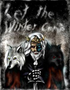 Old man Jon Snow, GoT fan art