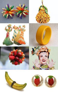 Bananas Is My Business by Kendra on Etsy--Pinned with TreasuryPin.com