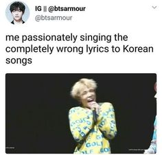 Me with any BTS song, however I am getting better. Namjoon, Hoseok, Seokjin, Taehyung, Bts Memes Hilarious, Funny Relatable Memes, Jimin, Lol, I Love Bts