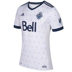 Vancouver Whitecaps FC adidas 2017 Primary Authentic Jersey - White f843bec82