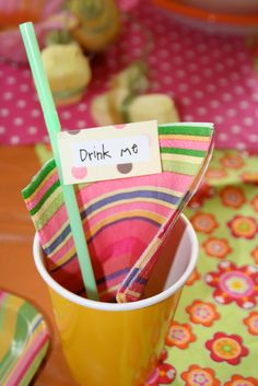 Mommy Lessons 101: Birthday Party Idea: Alice in Wonderland!