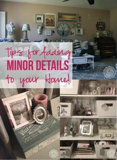 Tips for Adding Minor Details to Your Home! - Happily Ever After, Etc.