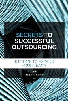 You know you got a lot on your plate: there are not enough hours each day to get everything done. It's time to bring a power partner to your biz: a VA. Find out the Secrets to Successful Outsourcing and set up your team for success.