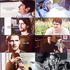 The way Nathan protects Haley just makes me tear up!
