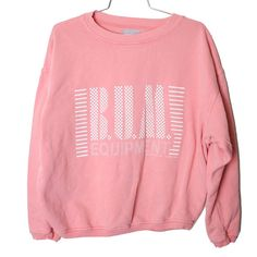 90s Grunge BUM Equipment Pale Pink Sweatshirt by MostAdventurous, $22.00