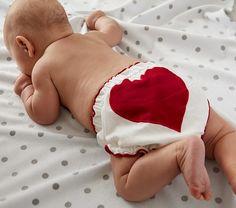 Valentine's Diaper Cover, Pottery Barn Kids