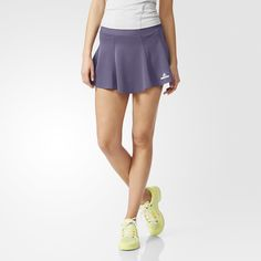 Combine style and performance with this lightweight women's tennis skort. As part of the adidas by Stella McCartney collection, this skort is made with soft climalite® fabric that will keep you dry and comfortable throughout your match.
