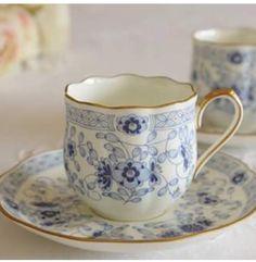 Beautiful china chocolate cup and saucer