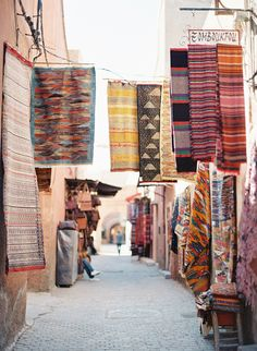 colourful inspiration; top three destinations! gorgeous: Morocco