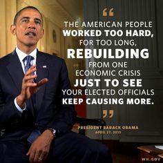 .Thank You Mr. President!
