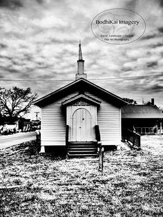 Old Southern Architecture. Leesville, Louisiana