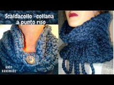 scaldacollo bimba uncinetto/bufanda del ganchillo del bebé/baby crochet scarf - YouTube