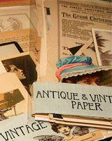 Vintage paper, to create!