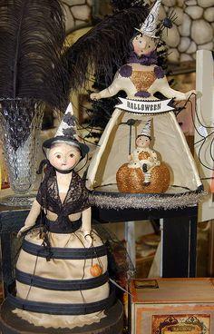 Nichol Sayre Halloween dolls