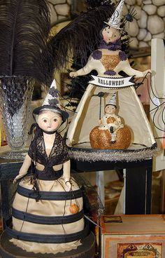 Halloween dollies
