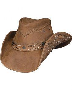 Bullhide Hidden Pleasure Leather Hat