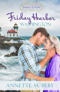 Giveaway at Shannon Vannatter's website: Finding Love in Friday Harbor Washington by Annette M. Irby #BookGiveaway