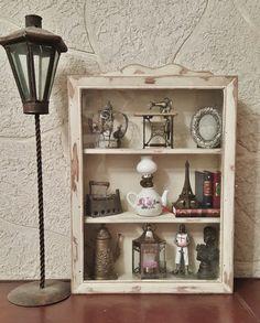 Restyling Vetrinetta Shabby Chic Vicky Interiors