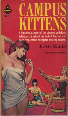 Covers book pulp lesbian fiction
