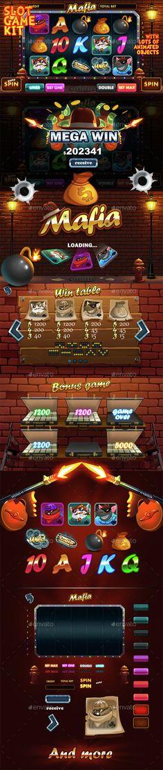 Mafia slot game kit (Game Kits)