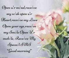 Mornings are beautiful and by sending SMS messages to your friends will start their day with good luck. Here are Best romantic love SMS to make your loved one's morning. Good Morning Romantic, Good Morning Angel, Good Morning Quotes For Him, Romantic Love Messages, Good Morning Texts, Morning Love, Good Morning Messages, Good Morning Greetings, Good Morning Wishes