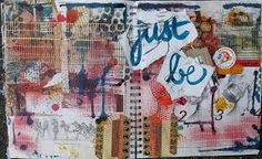 Image result for art journal pages mixed media