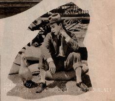 Al St. John and friend - 1926 -  1920s silent comedy alstjohn.net
