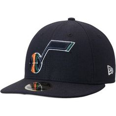 Utah Jazz New Era Official Team Color Low Profile 59FIFTY Fitted Hat - Navy