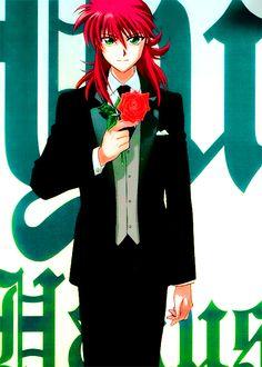 Shuichi Minomoto aka Kurama. Anime version