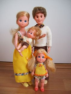 I feel a blog post coming on! The Sunshine Family.  Cutest doll family EVER!