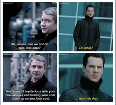 Sherlock Hound of the Baskerville/Star Trek Into Darkness crossover. Thank you Tumblr. I just pissed myself laughing! !!!