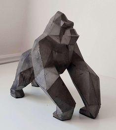 Dark Сoncrete Gorilla