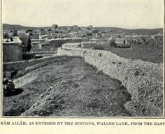 Ramallah - رام الله : RAMALLAH - Late 19th, early 20th c. - Towards Ramallah from El-Bireh